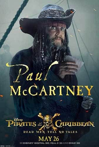 """Paul McCartney did eventually wind up working for Disney. He recently cameo-ed in """"Pirates of the Caribbean: Dead Men Tell No"""