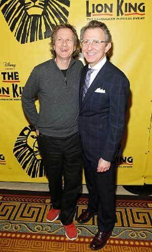 (L to R) Peter Schneider and Thomas Schumacher