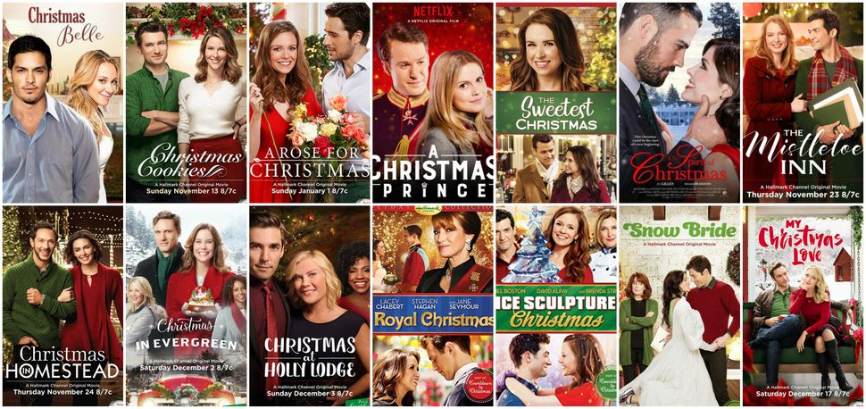 heres what happens when you watch 7 days of made for tv christmas movies - Christmas Belle Movie