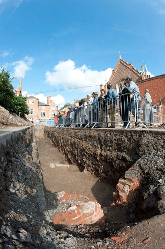 The car park where Richard III's skeleton was discovered in