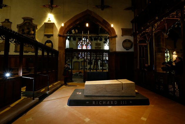 The tomb of Richard III in Leicester