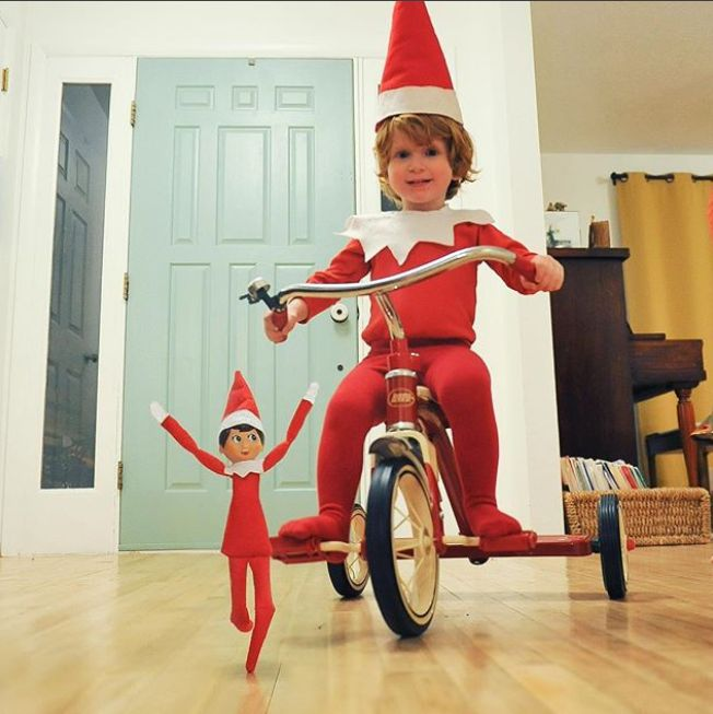 Real-Life Elf Causes More Mischief Than His Elf On The Shelf Toy In Hilarious