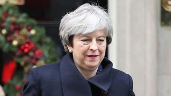 Prime Minister Theresa May leaves 10 Downing Street, London.