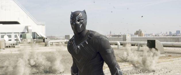 Chadwick Boseman in 'Captain America: Civil