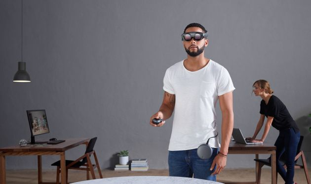 Magic Leap's HoloLens competitor finally gets a hardware reveal
