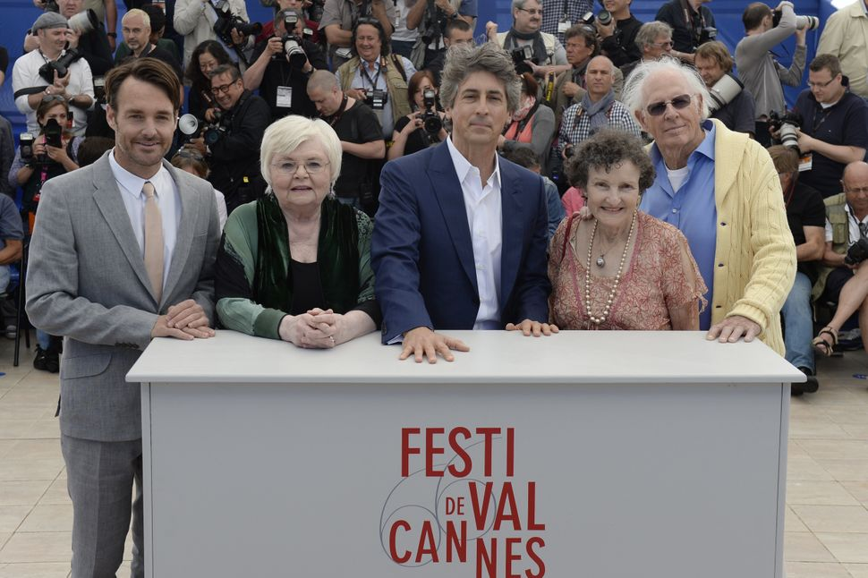 Will Forte, June Squibb, Alexander Payne, Angela McEwan and Bruce Dern at the 2013 Cannes Film Festival.