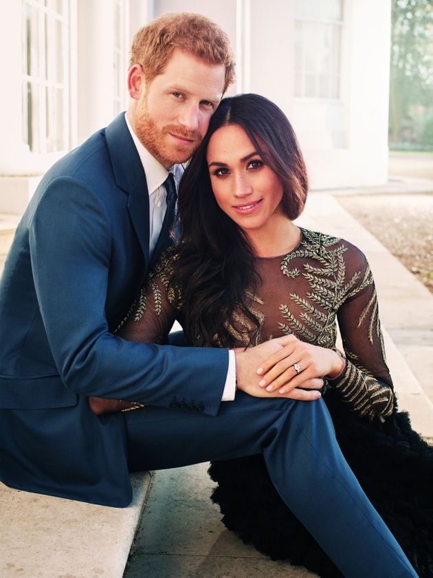 Meghan Markle chose a Ralph & Russo gown for her official engagement photos with Prince