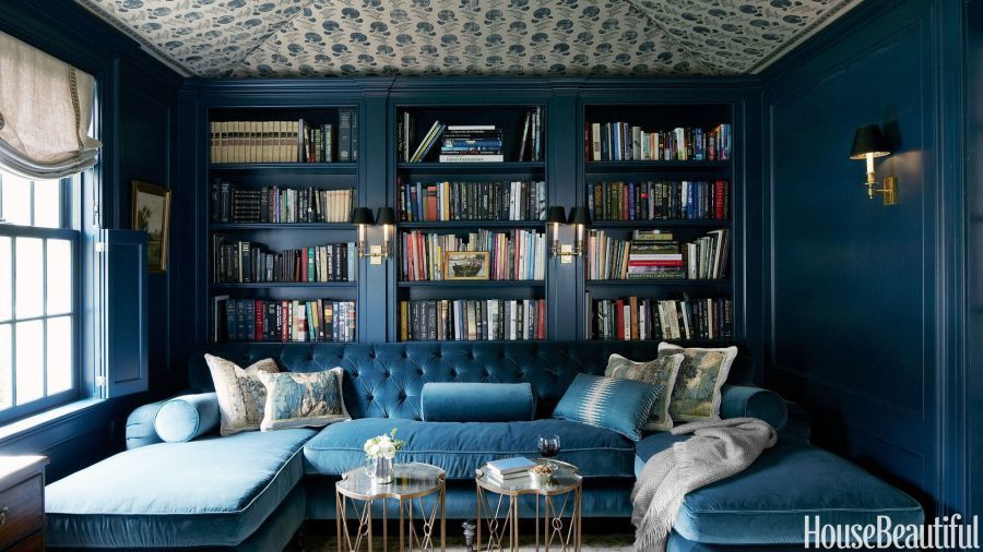 \u003cem\u003eAbove dark blue hues create a jewel box feel in the home & How To Make The Reading Nook Of Your Dreams | HuffPost