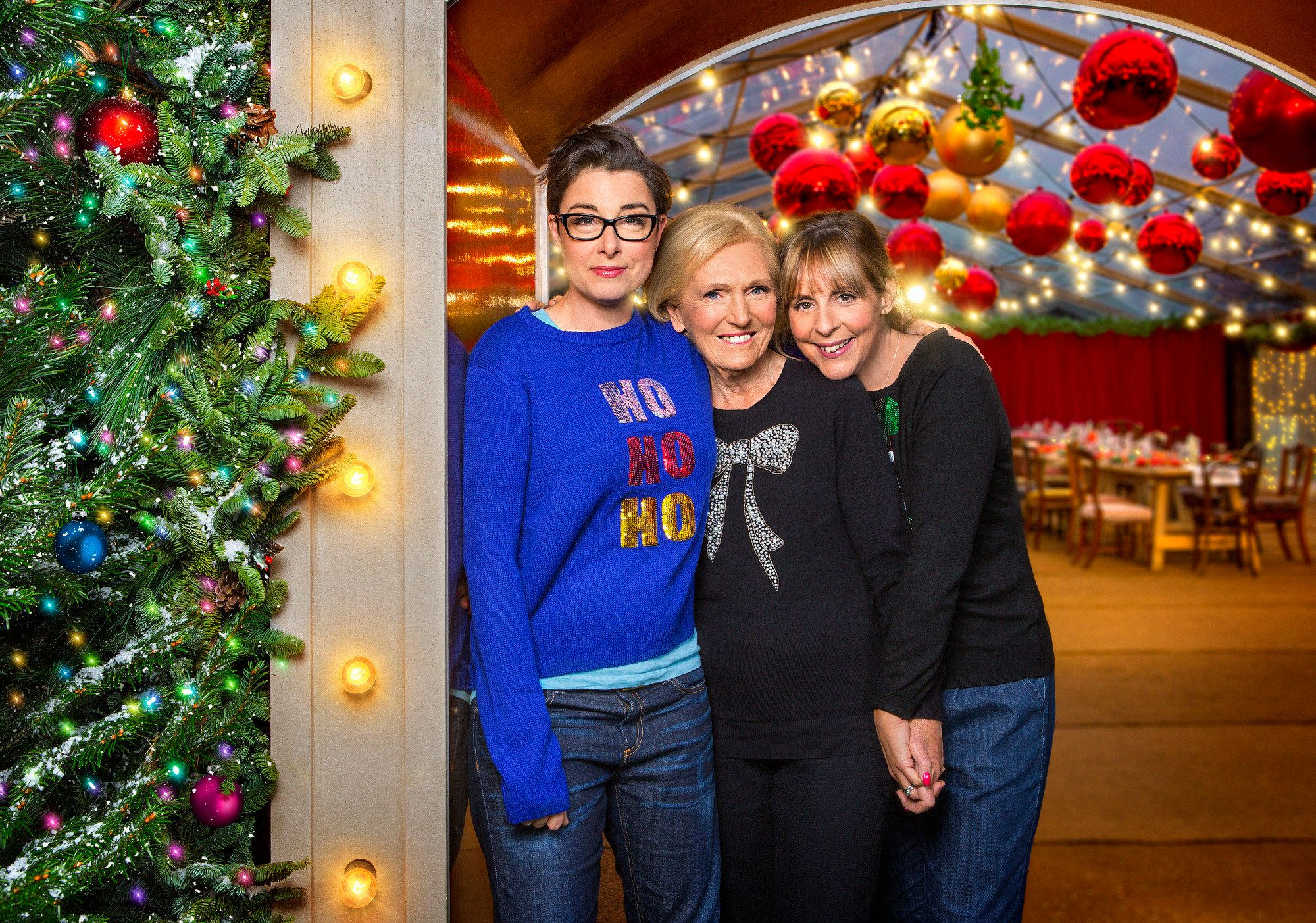 'Mary, Mel And Sue's Big Christmas Thank You' Has Viewers Longing For Old BBC 'Bake