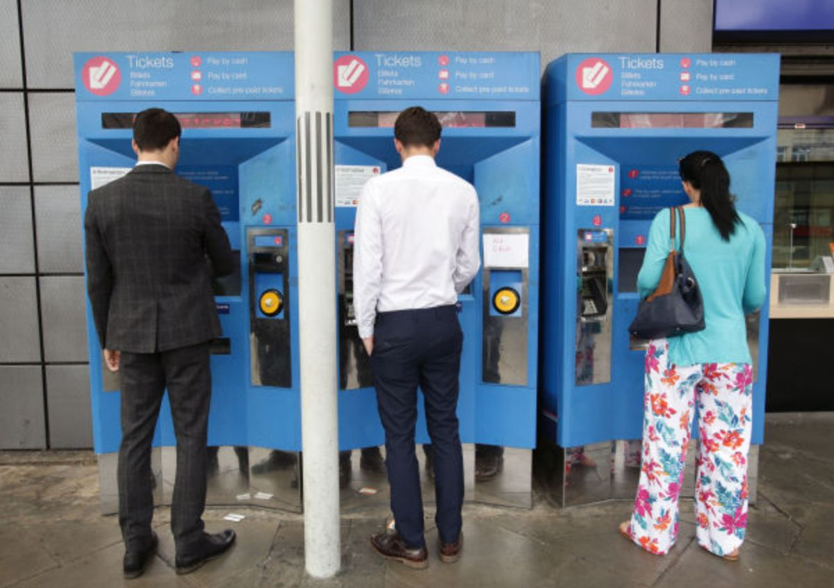 More than two-thirds of tickets machines on British railways do not produce cheapest