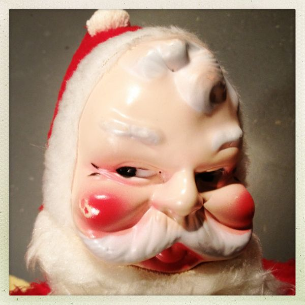 A vintage Santa Claus decoration ... we think.
