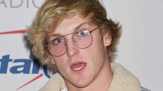 INGLEWOOD, CA - DECEMBER 01: YouTube personality/actor Logan Paul arrives at 102.7 KIIS FM's Jingle Ball 2017 at The Forum on December 1, 2017 in Inglewood, California. (Photo by Jeffrey Mayer/WireImage)