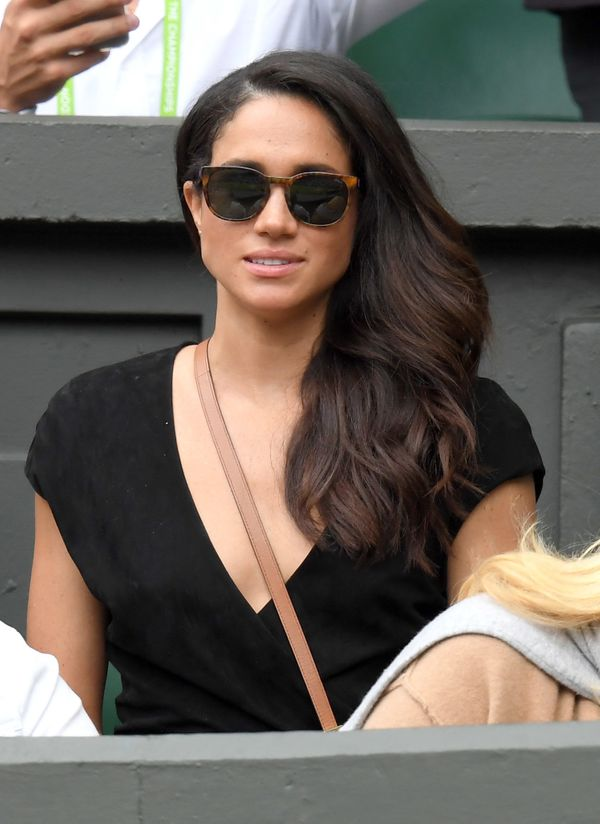 Markle at day eight of the Wimbledon Tennis Championships at Wimbledon on July 4, 2016 in London, England.