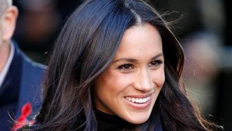 NOTTINGHAM, UNITED KINGDOM - DECEMBER 01: (EMBARGOED FOR PUBLICATION IN UK NEWSPAPERS UNTIL 24 HOURS AFTER CREATE DATE AND TIME) Meghan Markle attends a Terrence Higgins Trust World AIDS Day charity fair at Nottingham Contemporary on December 1, 2017 in Nottingham, England. Prince Harry and Meghan Markle announced their engagement on Monday 27th November 2017 and will marry at St George's Chapel, Windsor in May 2018. (Photo by Max Mumby/Indigo/Getty Images)