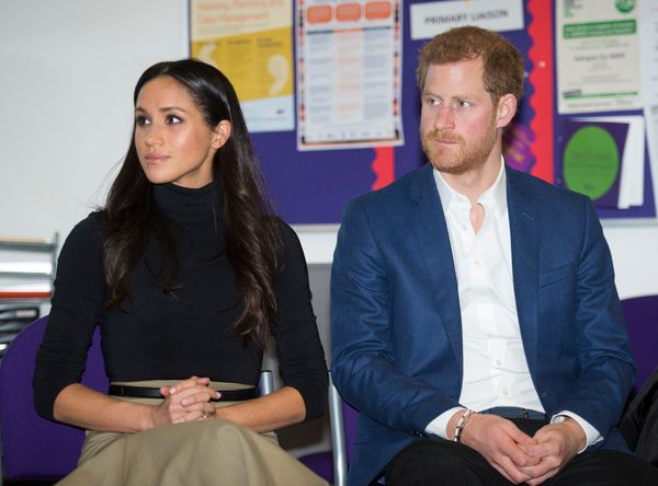 With Prince Harry at the Nottingham Academy on Dec. 1, 2017 in Nottingham, England.