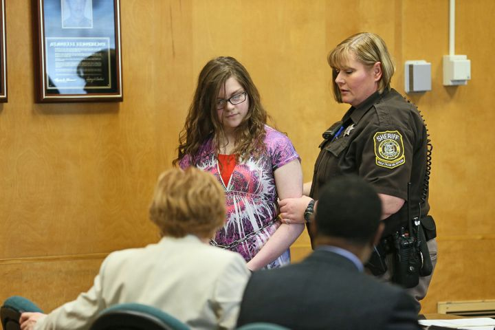 Anissa Weier pleaded guilty to the attack in August.