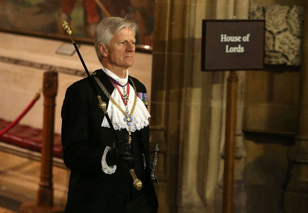 David Leakey is standing down as Black Rod after seven