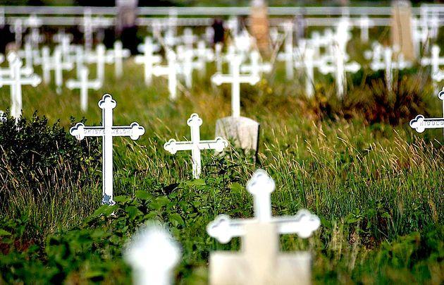 Νεκροταφείο στο Dawson, New