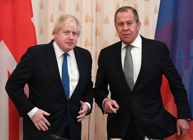 Boris Johnson told Sergei Lavrov:
