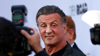 "Actor Sylvester Stallone poses at the premiere of ""The Promise"" in Los Angeles, California, U.S., April 12, 2017. REUTERS/Mario Anzuoni"