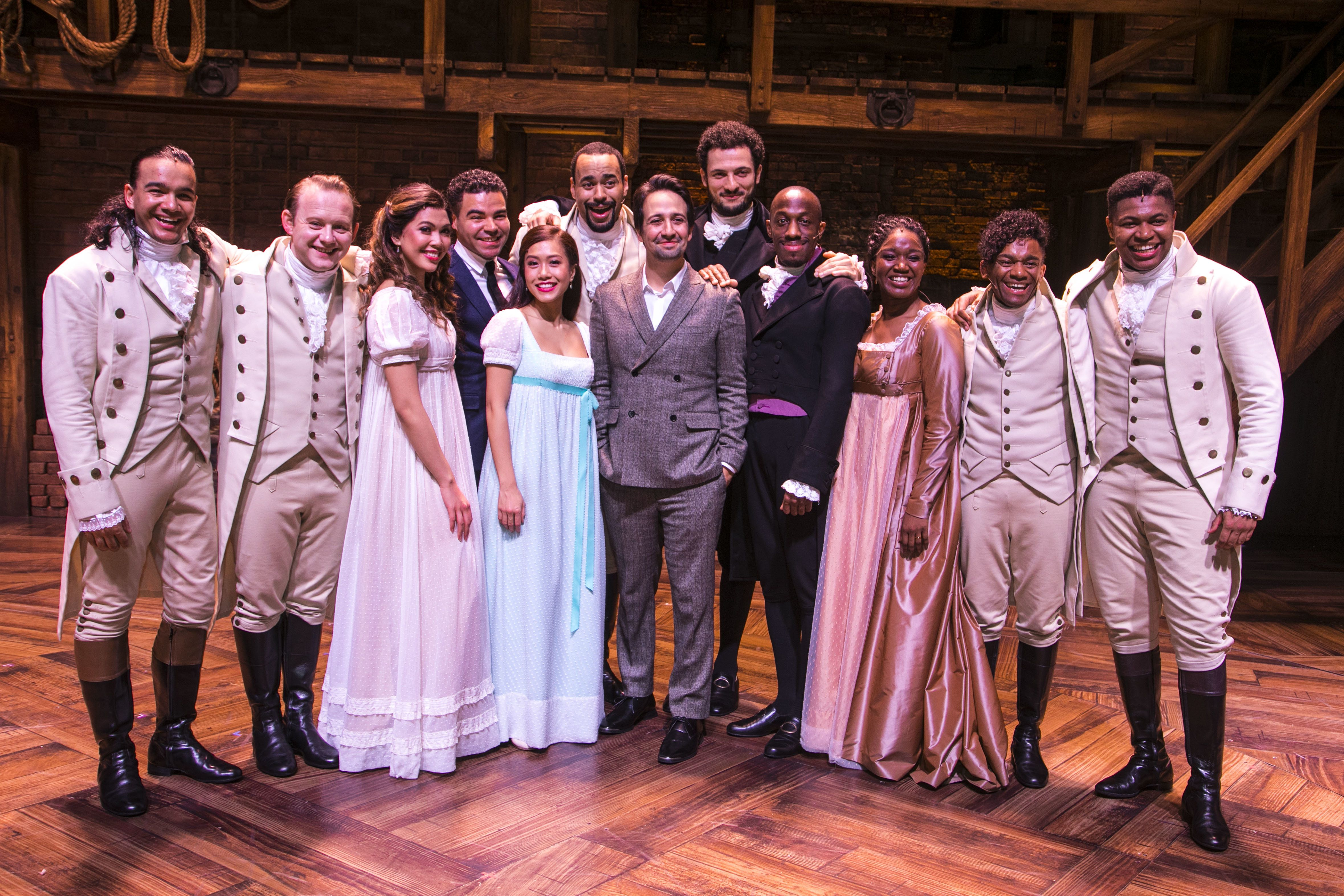 The 'Hamilton' Reviews Are Out, And The West End's New Arrival Sounds Totally