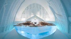 Το Ice Hotel παρουσίασε τις φετινές σουίτες του και είναι ένα πραγματικό παραμύθι από πάγο και