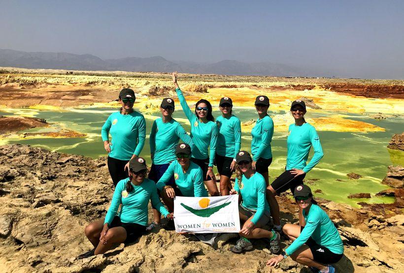 The team at Dallol springs