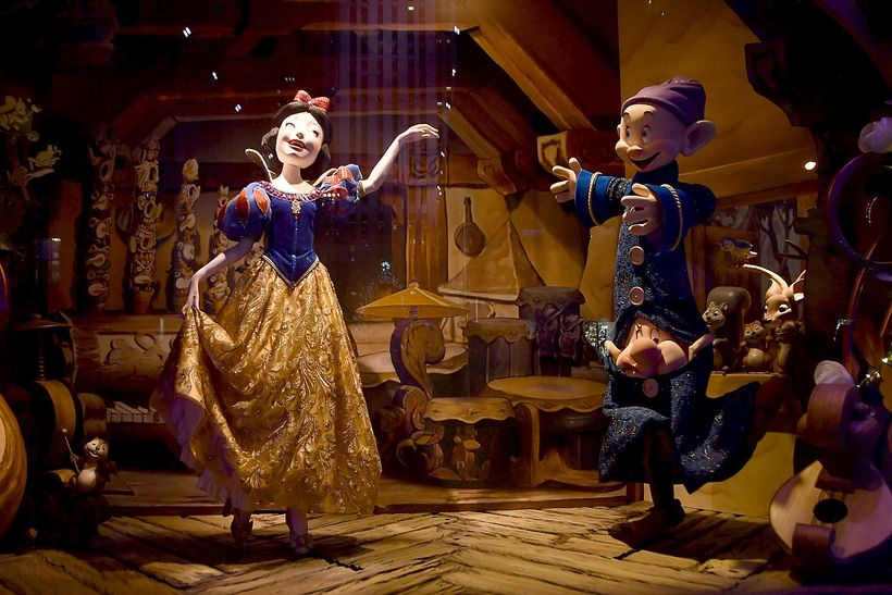 <em>Saks Fifth Avenue's holiday windows pay homage to Snow White's 70th Anniversary.</em>