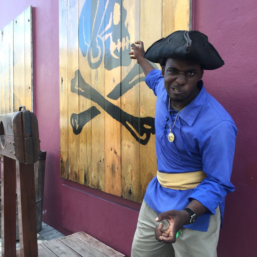 Entrance to the Pirates of Nassau Museum