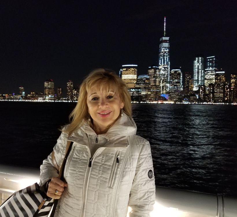 Fiona Citkin was partying in New York City, to see off 2017.