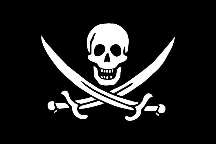 The Jolly Roger of Calico Jack Ratham
