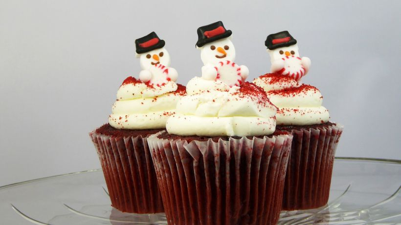 You don't have to feel guilty about reaching for those cupcakes this holiday season!