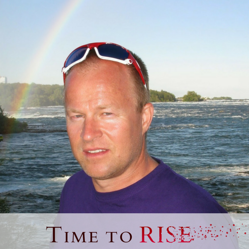 Time to Rise author Jesper Pilegaard