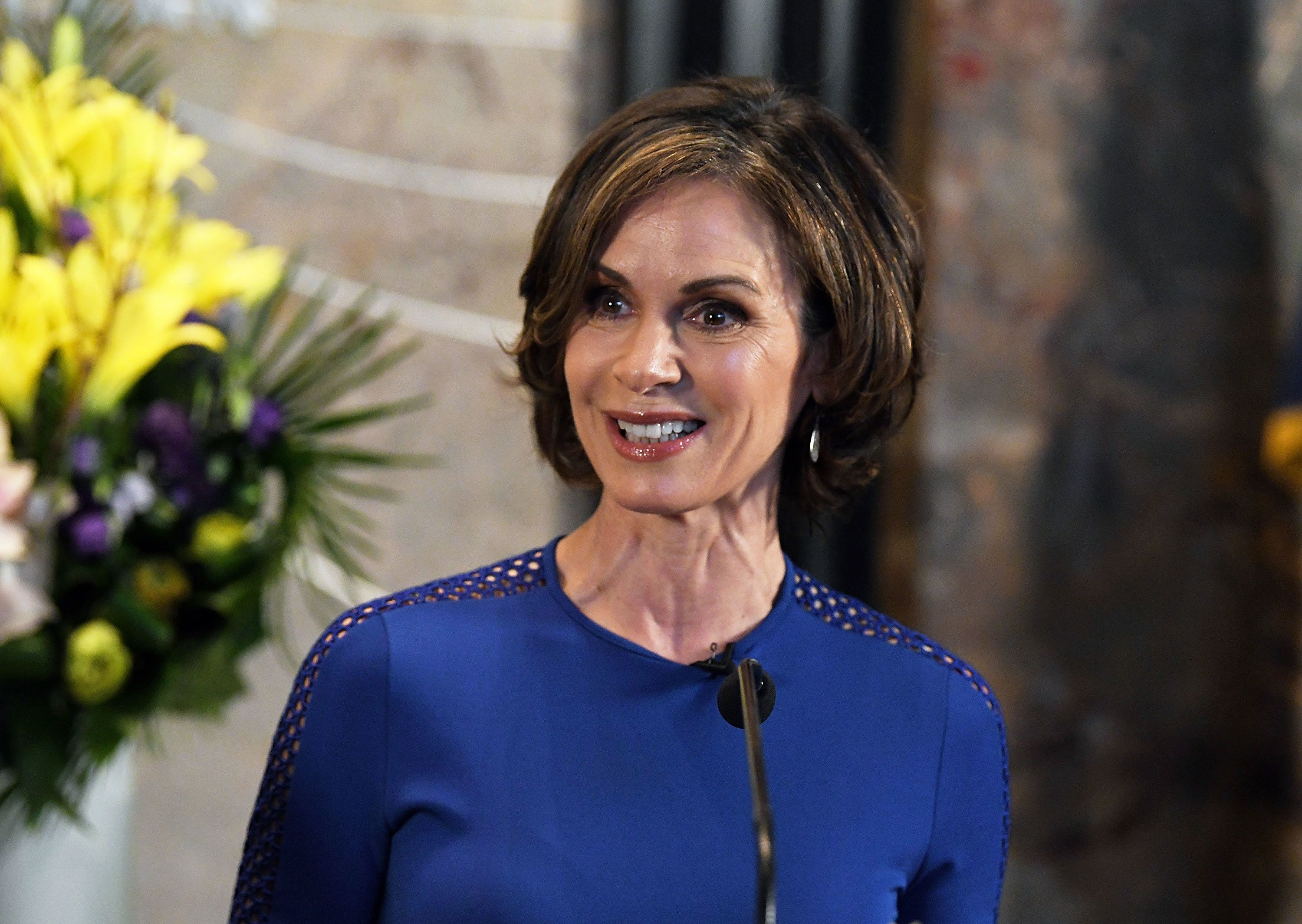 NEW YORK, NY - SEPTEMBER 29:  Elizabeth Vargas visits The Empire State Building to celebrate the 40th season of ABC's '20/20' at The Empire State Building on September 29, 2017 in New York City.  (Photo by Slaven Vlasic/Getty Images)