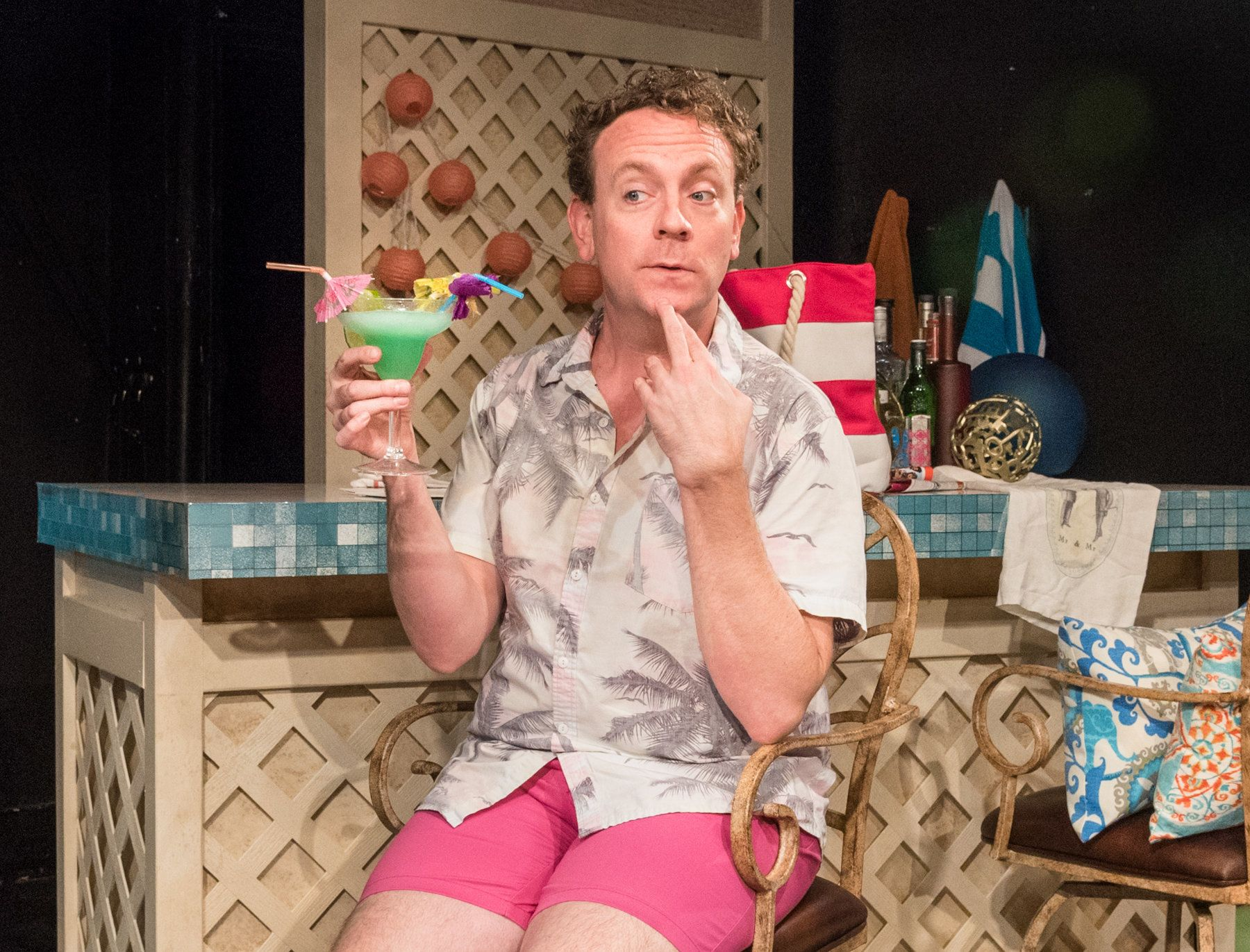 Drew Droege stars in the one-man show