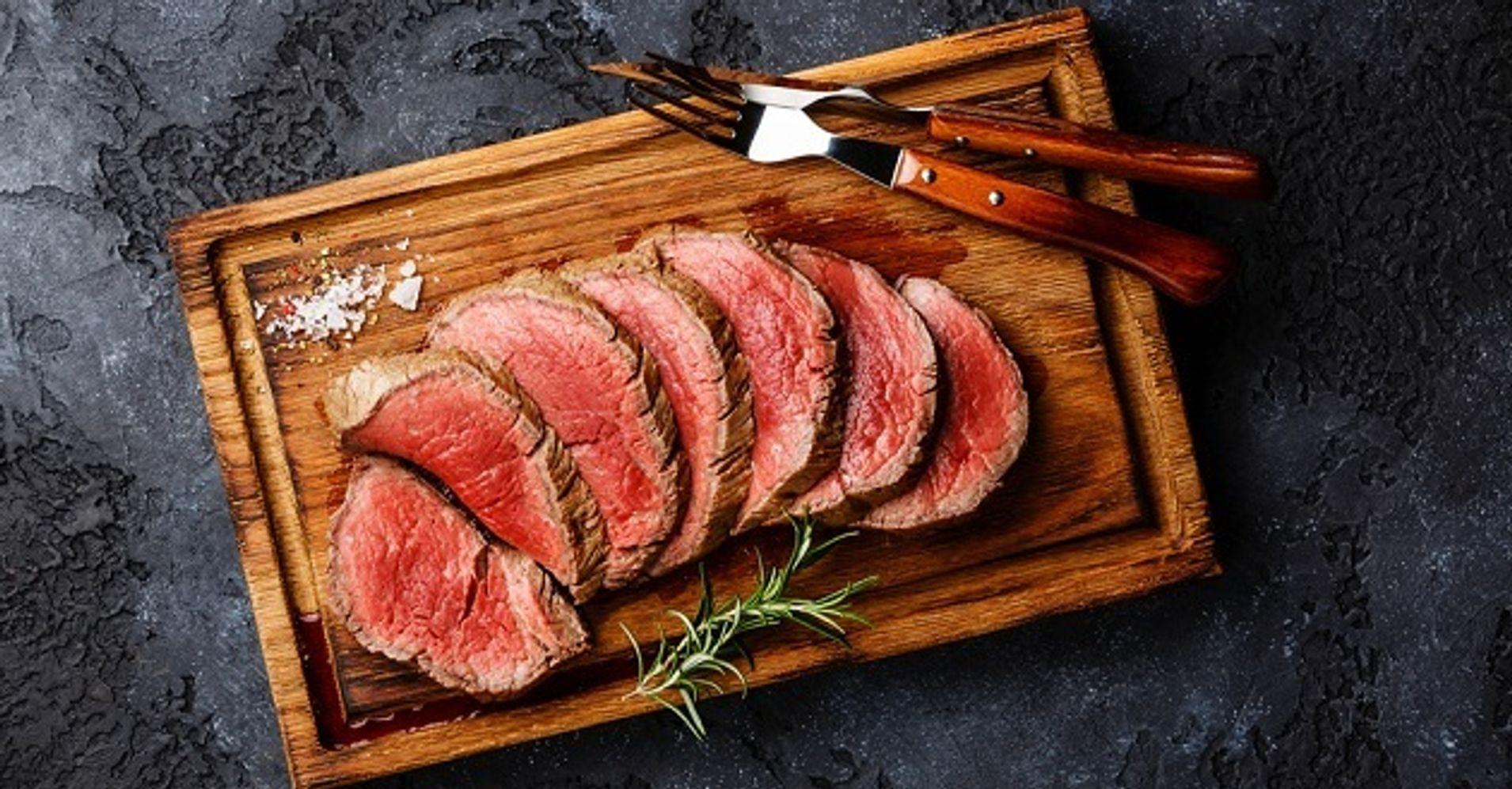 Salt Crusted Beef Tenderloin The Best Whole Beef Tenderloin Recipe Huffpost