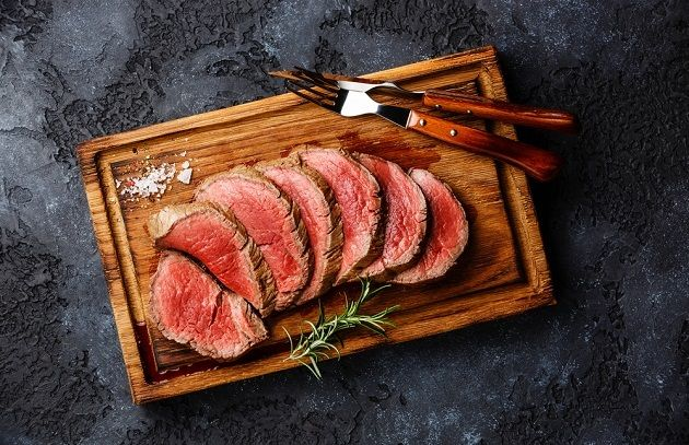 Sliced to serve: Whole Beef Tenderloin