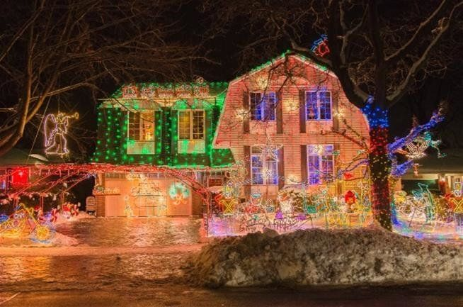Douglas George Musson turned his house each year into an eye-popping wonderland