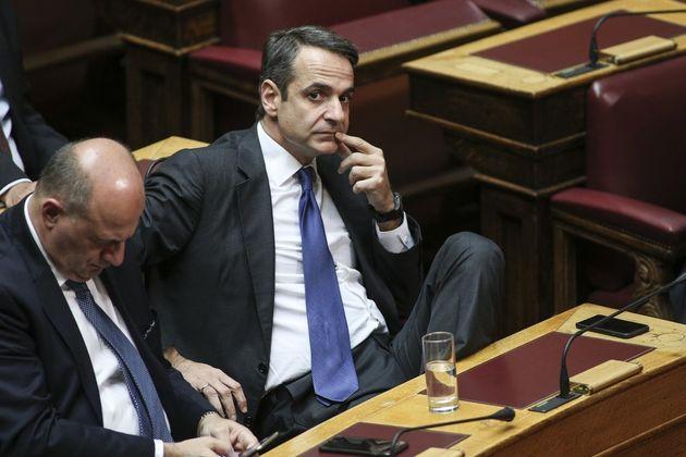 Θέμα δεδηλωμένης θέτει ο Μητσοτάκης λόγω άρνησης Καμμένου να στηρίξει την κυβερνητική επιλογή στο ζήτημα...