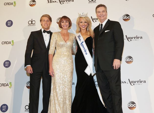 Josh Randle, Lynn Weidner, Savvy Shields and Sam Haskell appear during the 2017 Miss America