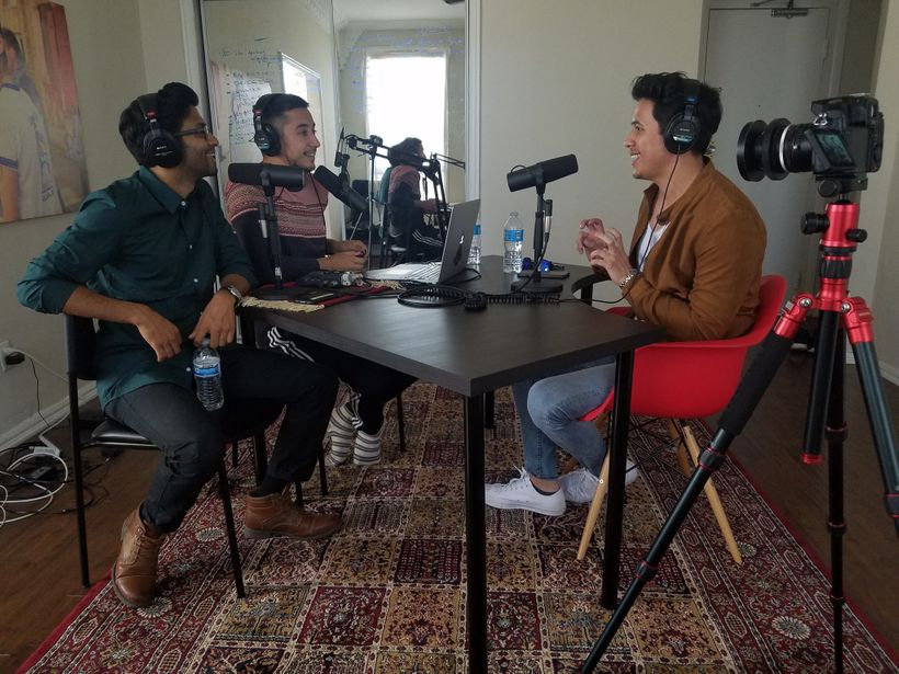 Asif and Ali with Youtube phenom Eric Ochoa (supereeego)