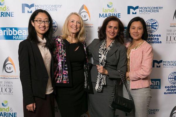 <em>Xiao Yu Wang, Carleen Lyden Walker, Georgia Nomikos, Yuting Lin. Photo:Ash Patino.</em>