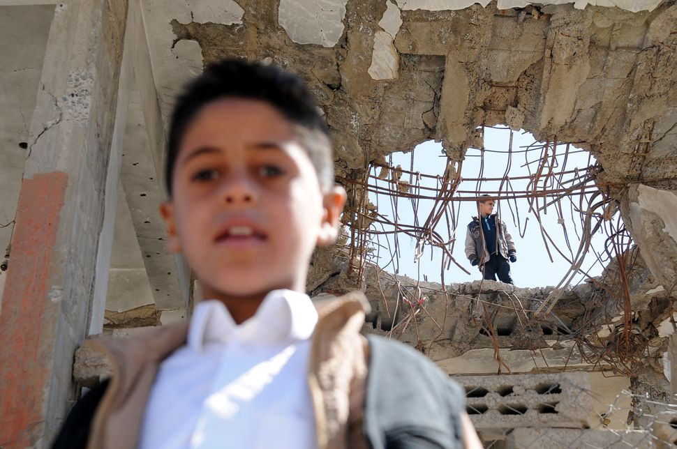 Airstrikes carried out by a Saudi-led coalition in Yemen has helped create the world's worst humanitarian crisis.