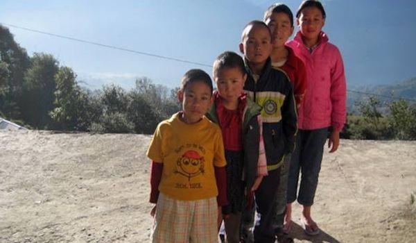 <em>These children, Dr. Kazuko says, embody compassion, cooperation, and patience.</em> <em>Photo: Dr. Kazuko Tatsumura.</em>