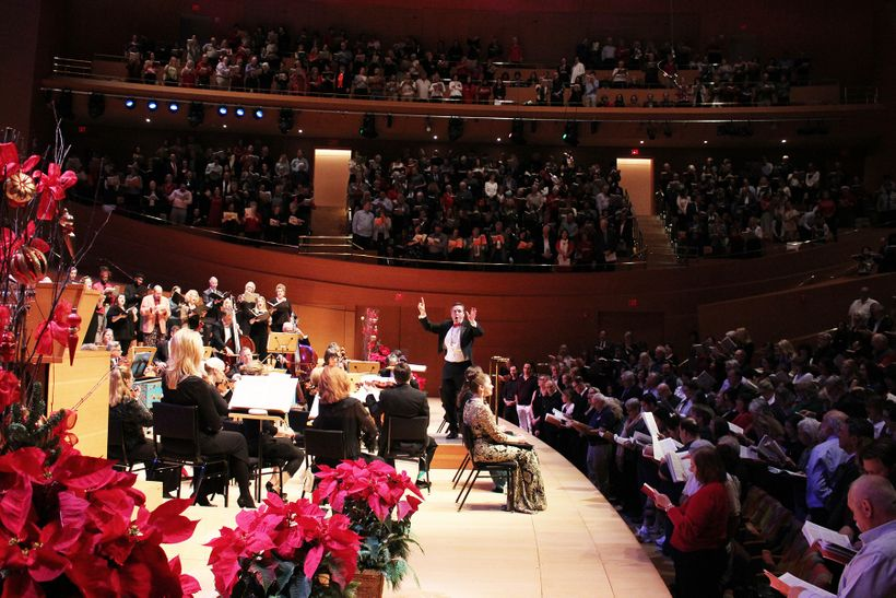 37 Annual Messiah-Sing-Along at Walt Disney Concert Hall