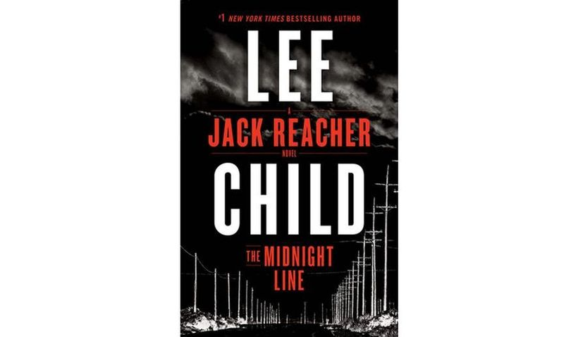 Cover of THE MIdNIGHT LINE by Lee Child