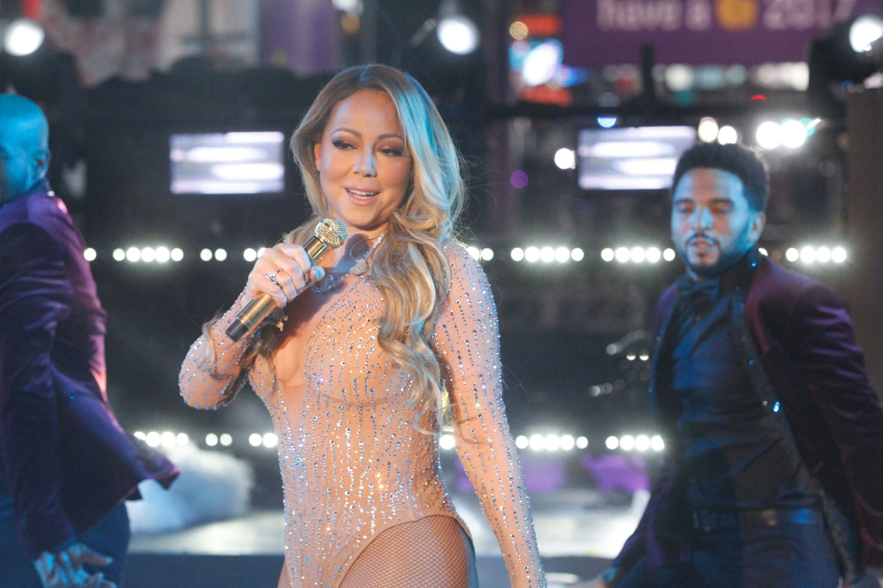 Carey returns to 'New Year's Rockin' Eve'