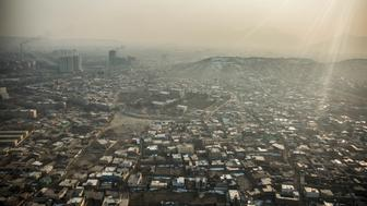 KABUL, AFGHANISTAN - DECEMBER 20: View to Kabul, capital of Afghanistan, on December 20, 2017 in Kabul, Afghanistan. (Photo by Florian Gaertner/Photothek via Getty Images)