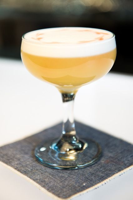 CH Distillery's Lavender Bees Knees cocktail.