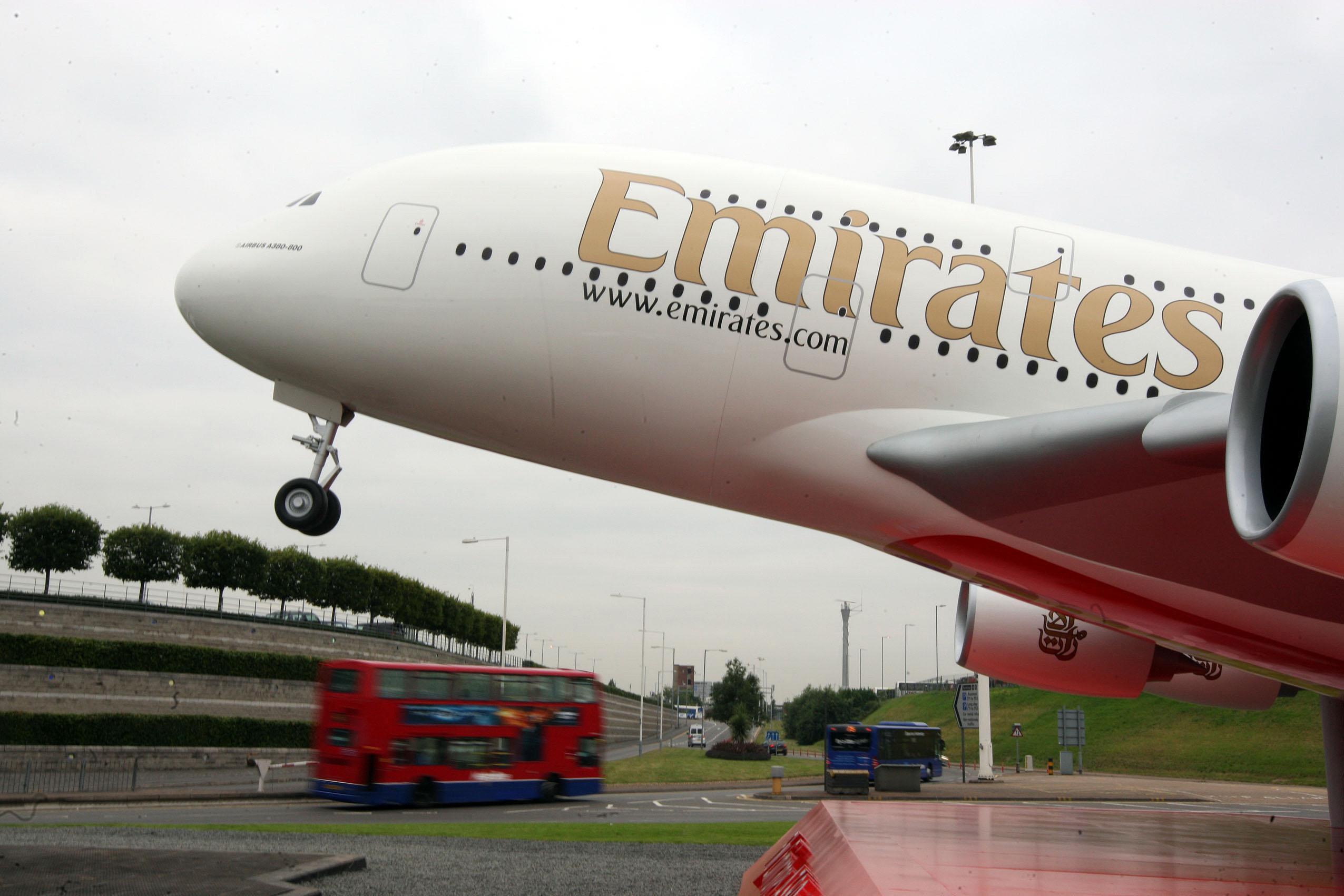 Ακύρωση των πτήσεων της αεροπορικής εταιρίας Emirates προς την